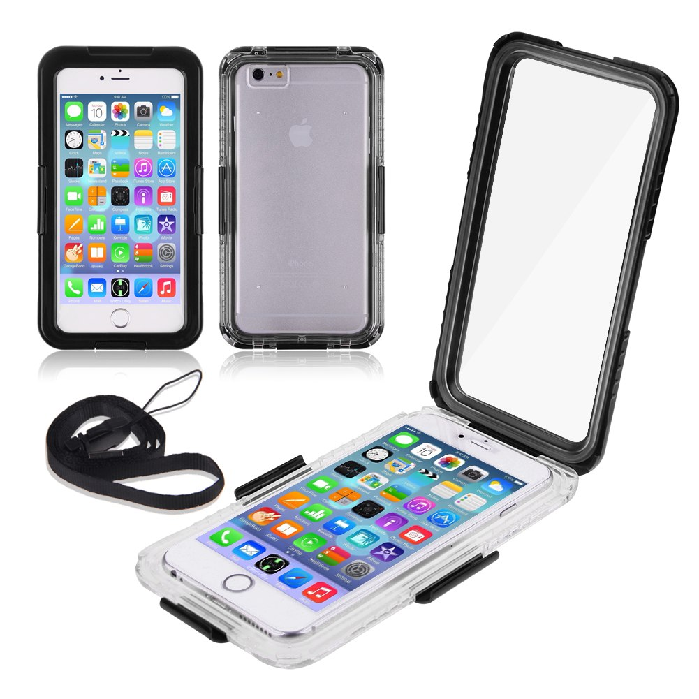 antichoc waterproof shockproof etanche housse coque etui case pr iphone 6 plus 5 ebay. Black Bedroom Furniture Sets. Home Design Ideas
