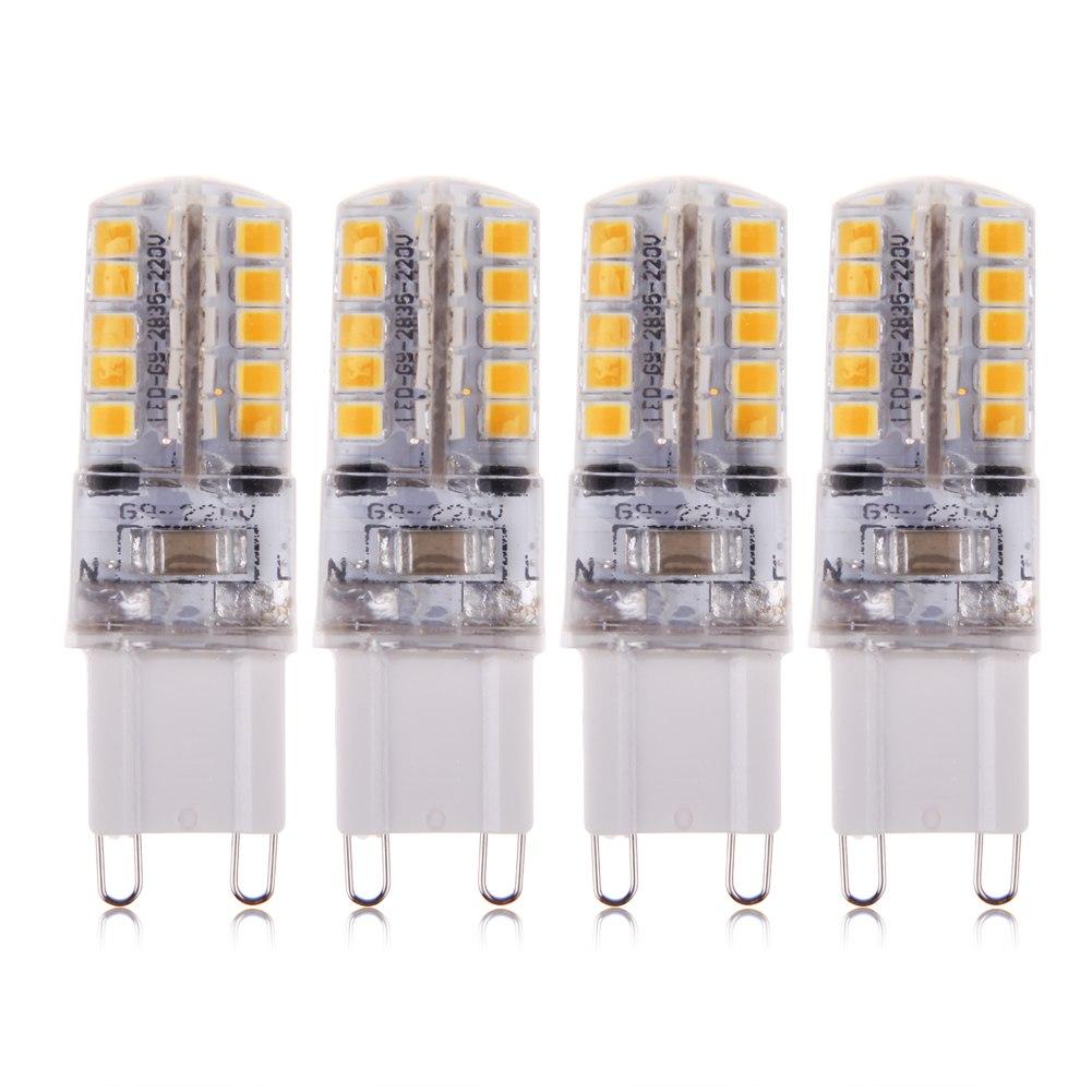 4 x 4w g9 led lampe smd high power birne stecklampe sparlampe leuchtmittel 230v ebay. Black Bedroom Furniture Sets. Home Design Ideas