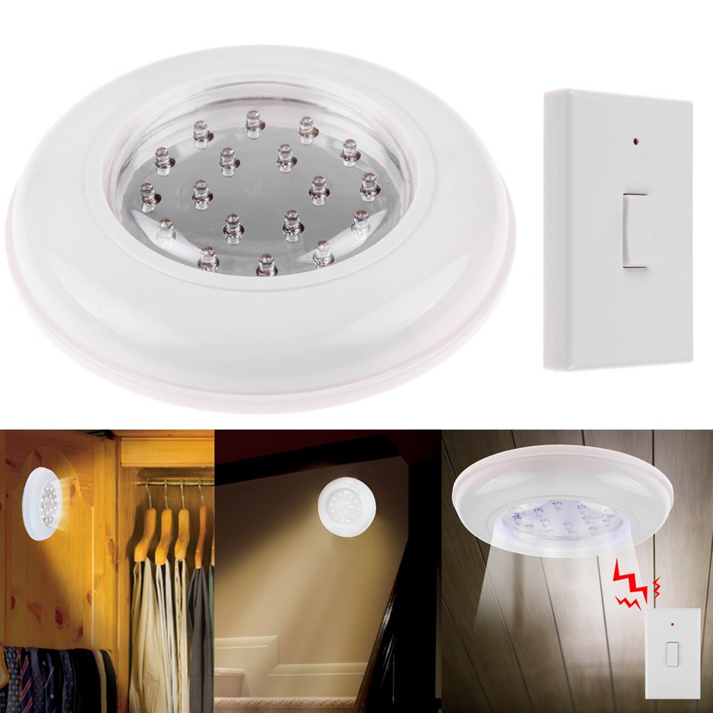 Wireless Ceiling Wall Light With Remote Control Switch