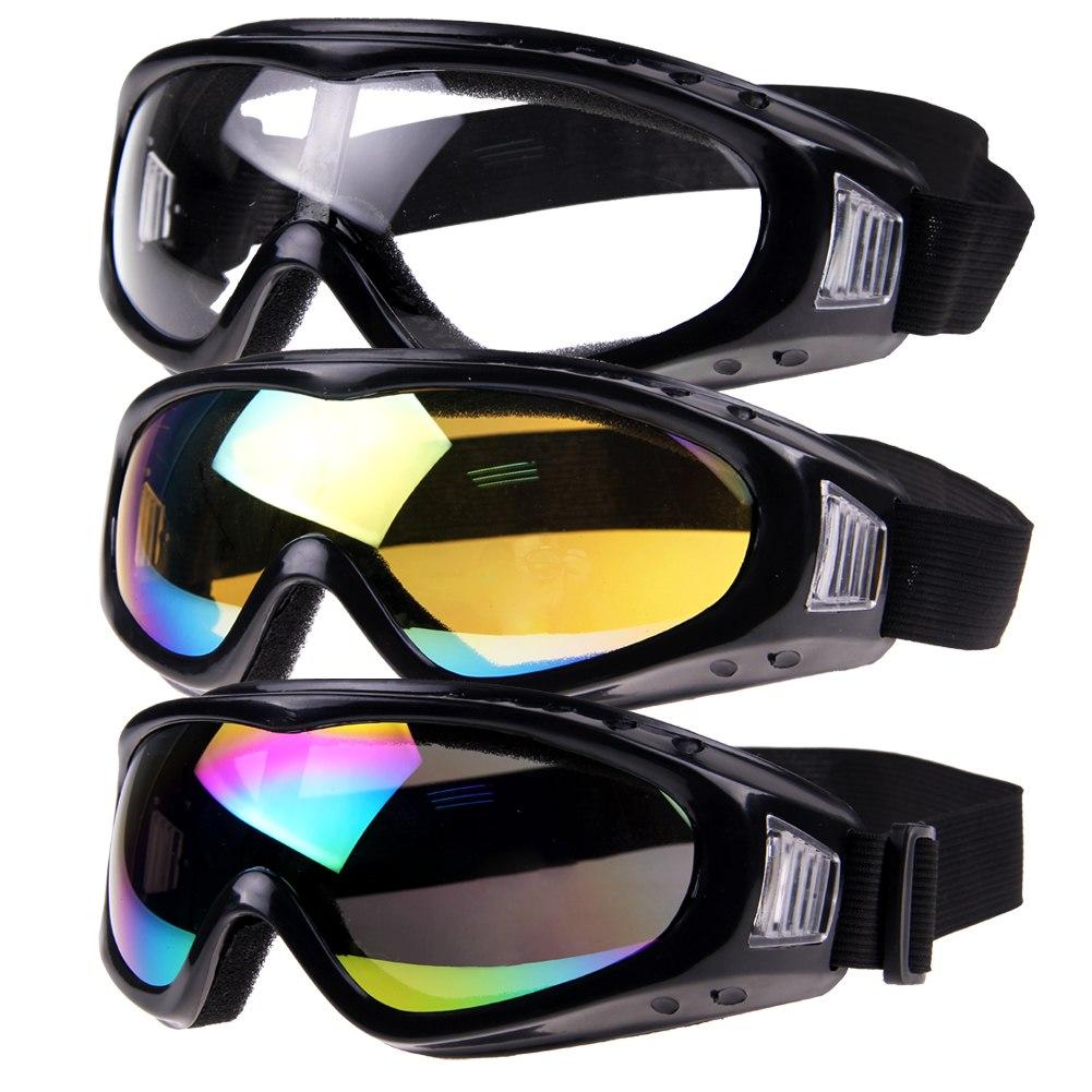 201410: Motorcycle Cool Ski Snowboard Dustproof Sunglasses Goggles