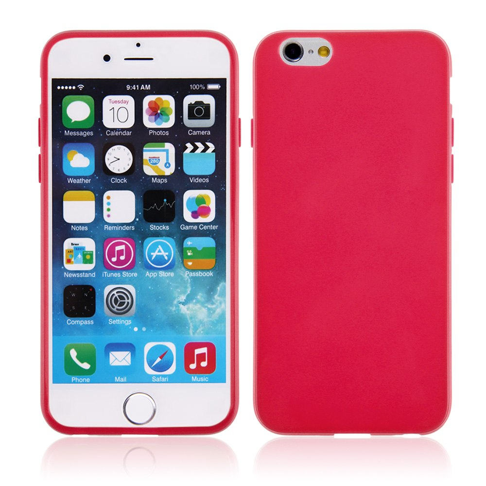 Jelly Ultra Thin Soft TPU Gel Rubber Silicone Case Cover for iPhone 6 / 6 Plus