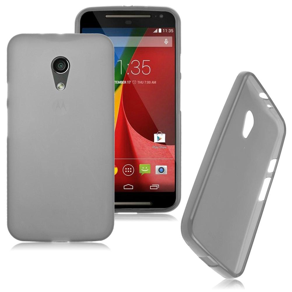 Frosted Matte Soft Flexible TPU Case Cover For Motorola Moto G 2nd Gen XT1063
