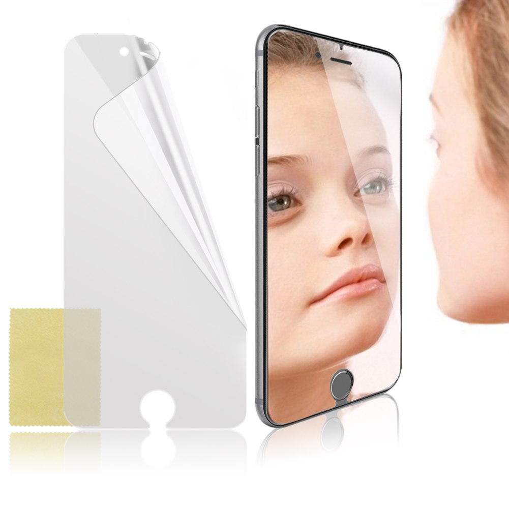 Mirror lcd screen protector cover film guard shield fr for Mirror screen