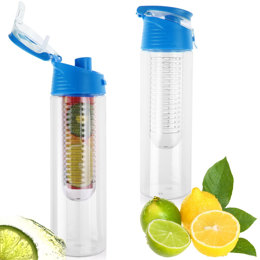 fruit wreath water bottle fruit infuser