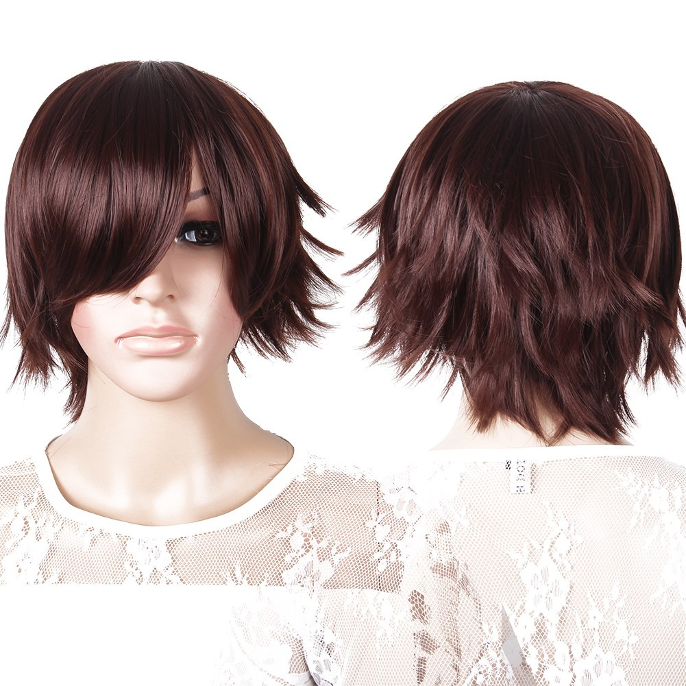 Fashion Short Wig Cosplay Party Straight Costume Wigs Full Wig HOT SALE