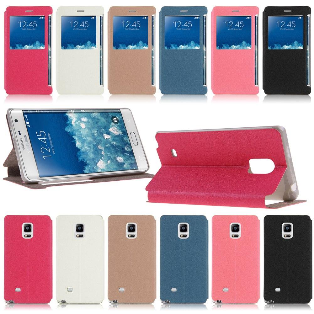 Housse Etui Coque Flip Cover Case View en Cuir Pour Samsung Galxy / Nokia Phones