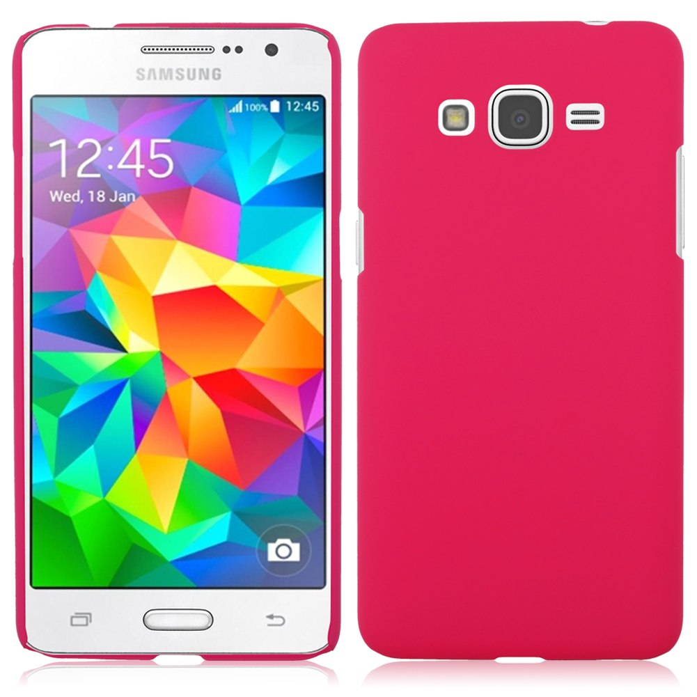 Hard Plastic Matte Back Case Cover For Samsung Galaxy Grand Prime G530H G5308W