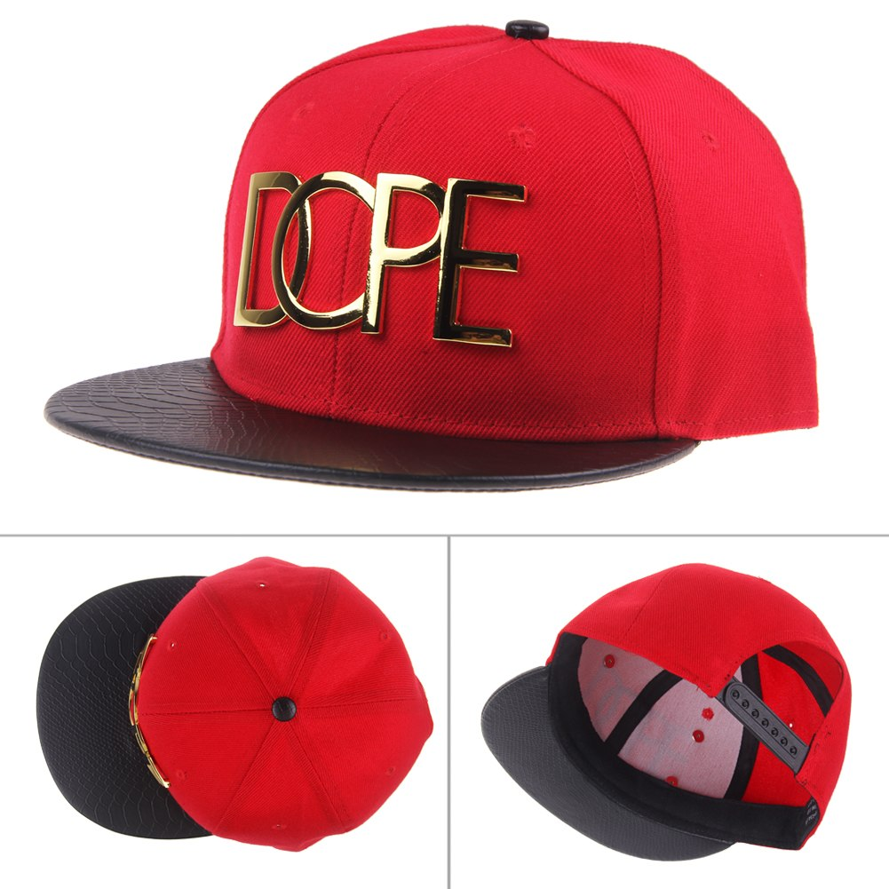 fashion casual unisex dope hats adjustable snapback hip