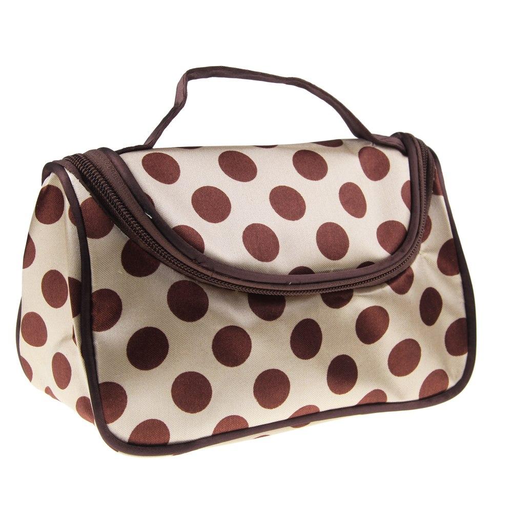 Donna borsa porta cosmetici pennello trucco viaggio - Trousse porta trucchi ...