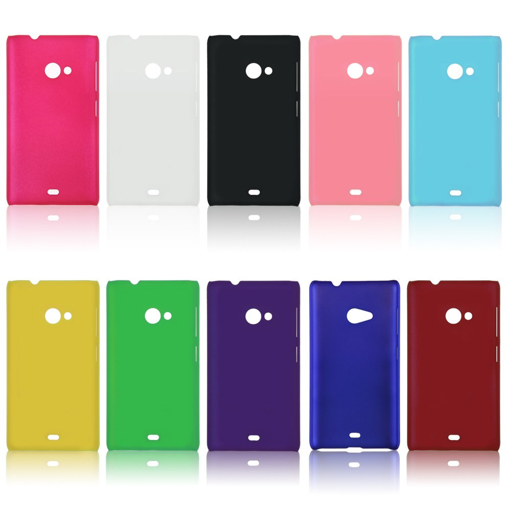 Matte Hard Skin Back Case Cover For Microsoft Lumia 535