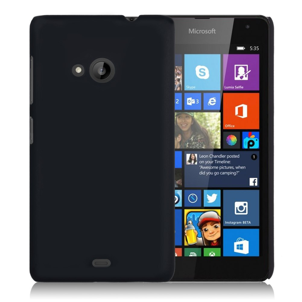 201412: For Microsoft Lumia 535 Dual / RM-1090 Frosted Matte Hard