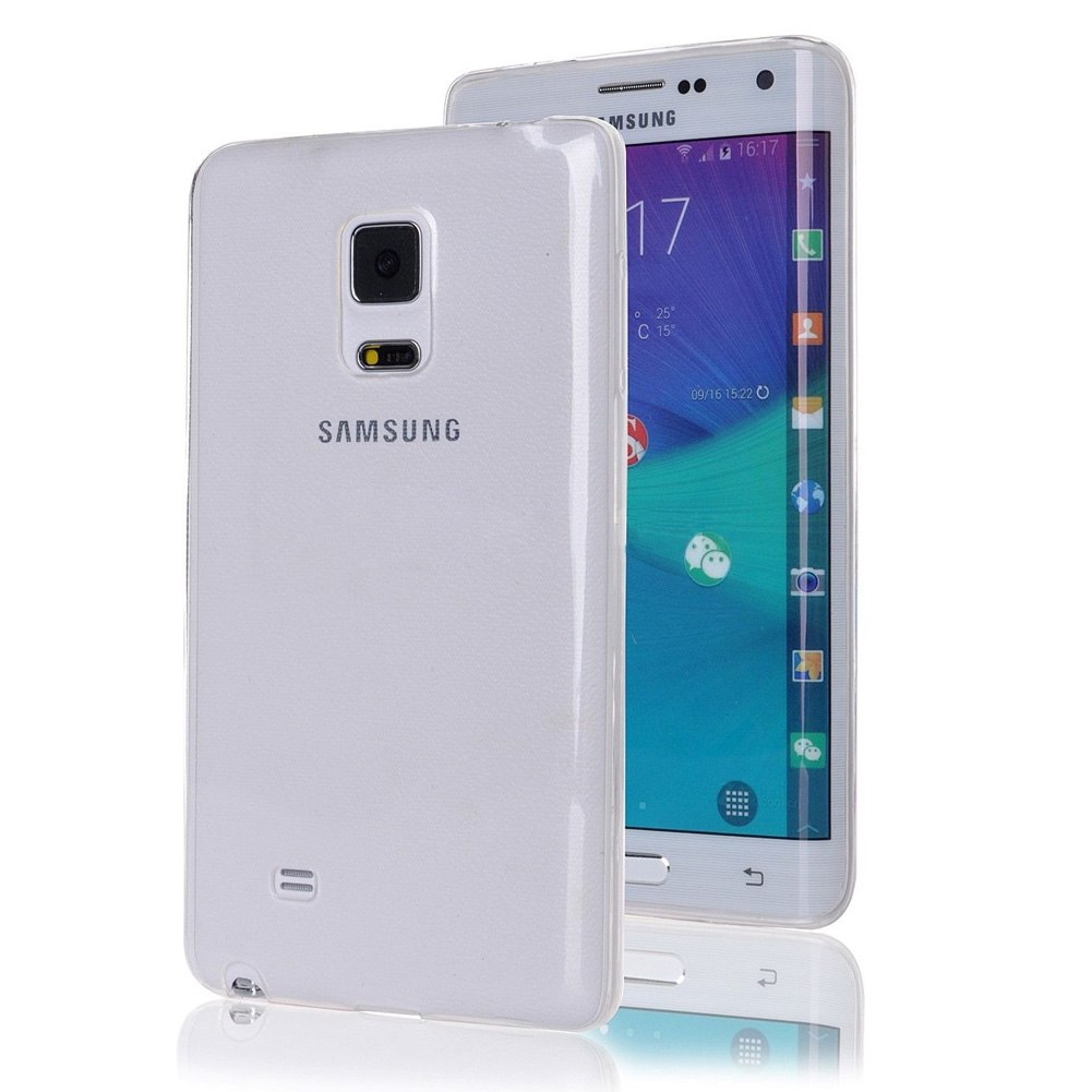 For Samsung Galaxy Note Edge N915 Ultra Slim Transparent Clear TPU Case Cover