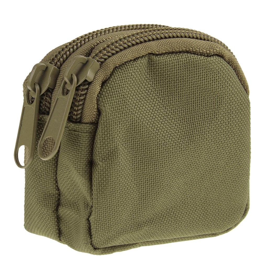Tactical Military Coin Wallet Purse Key Bag Mini Zipper Pocket Pouch CS Hiking
