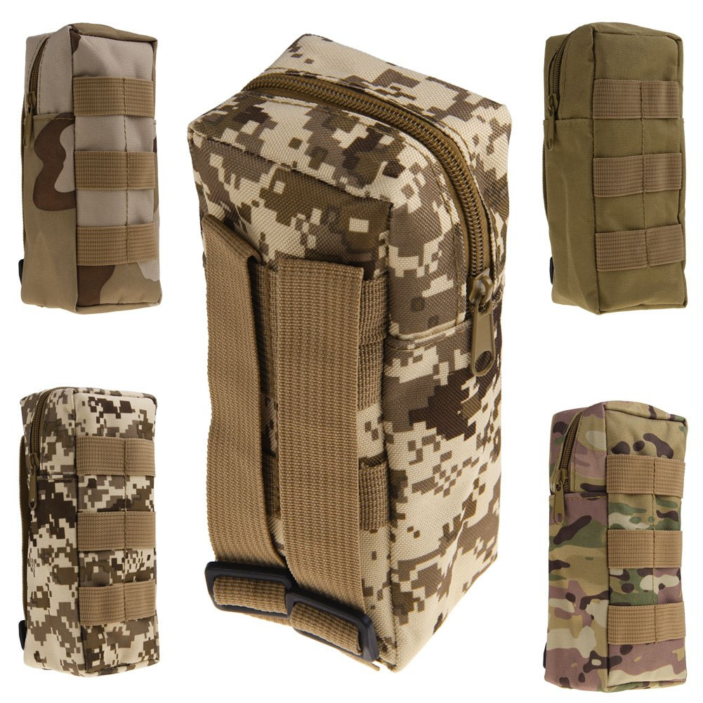 Tactical Military Zipper Water Bottle Pouch Bag Pouch ...