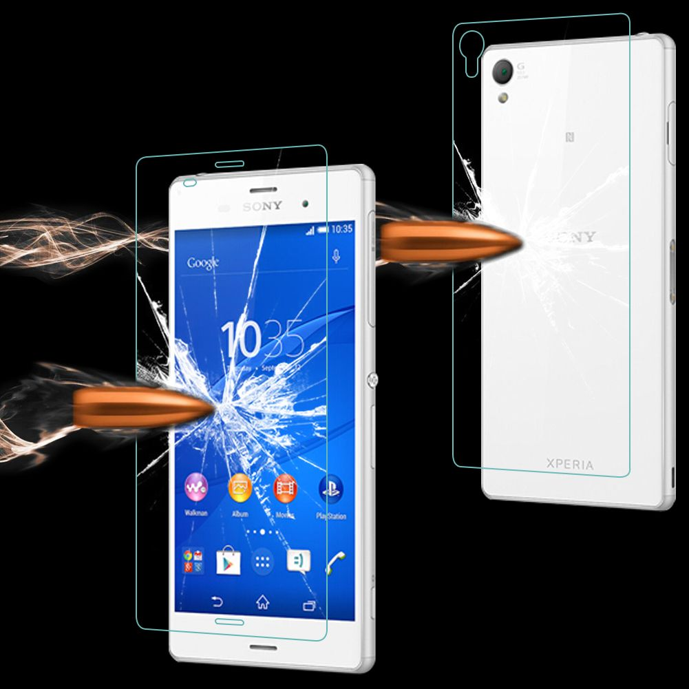 Kingkong Tempered Glass Sony Xperia Z3 D6653 for sony xperia z3 d6653 front back tempered glass