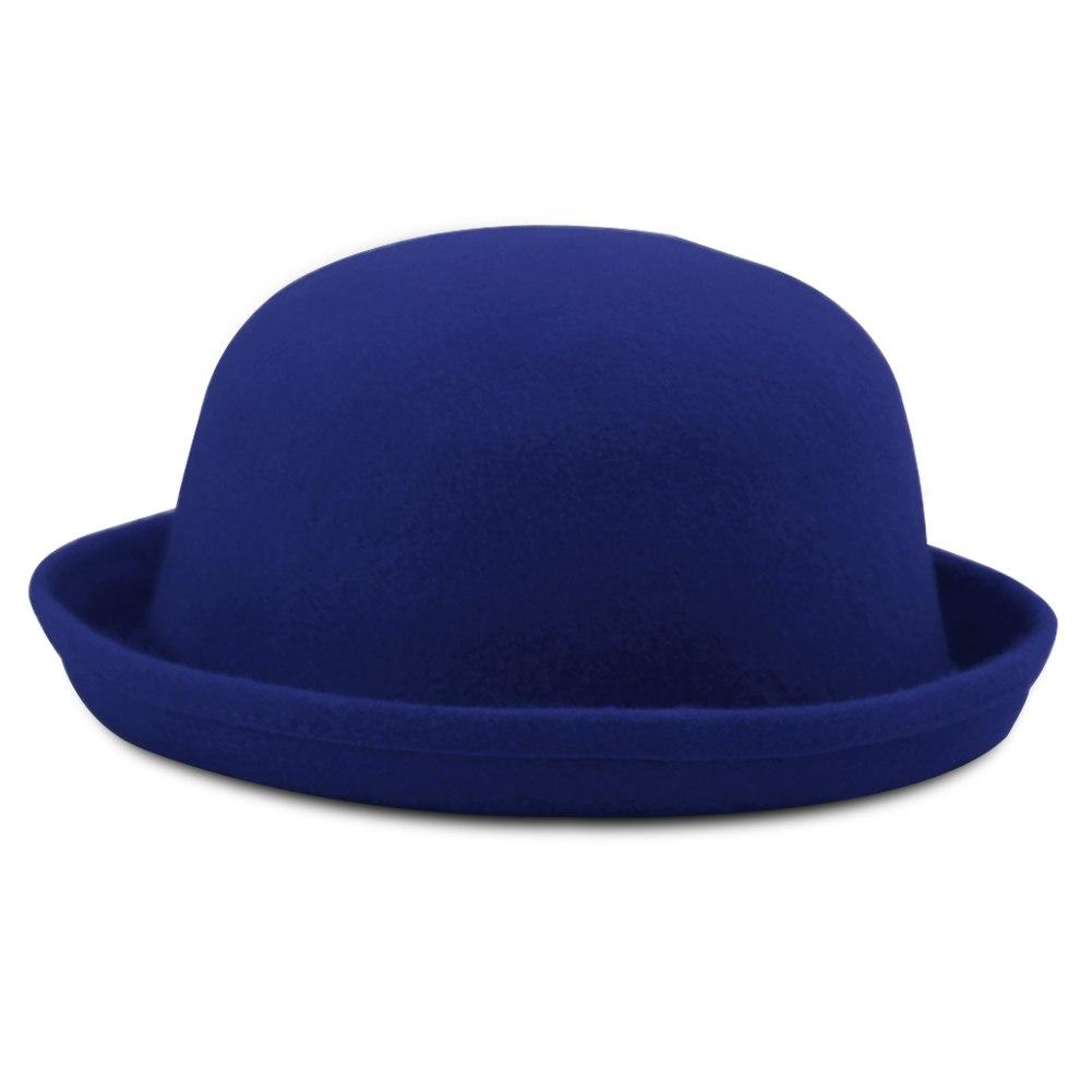 NEW Fashion Retro Trendy Cute Ladies Women Wool Felt Cloche Derby Bowler Hat Cap