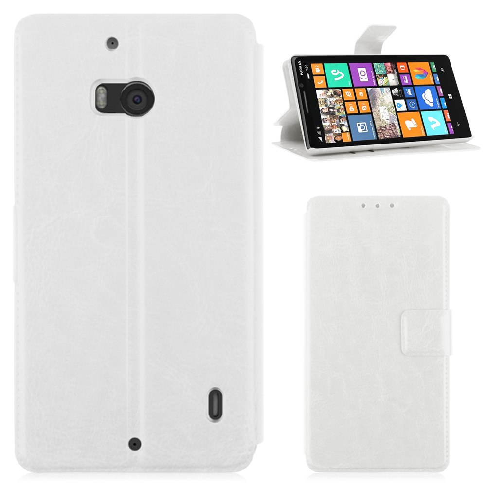 For Nokia Lumia 930 Luxury Flip PU Leather Wallet Stand Magnetic Case Skin Cover