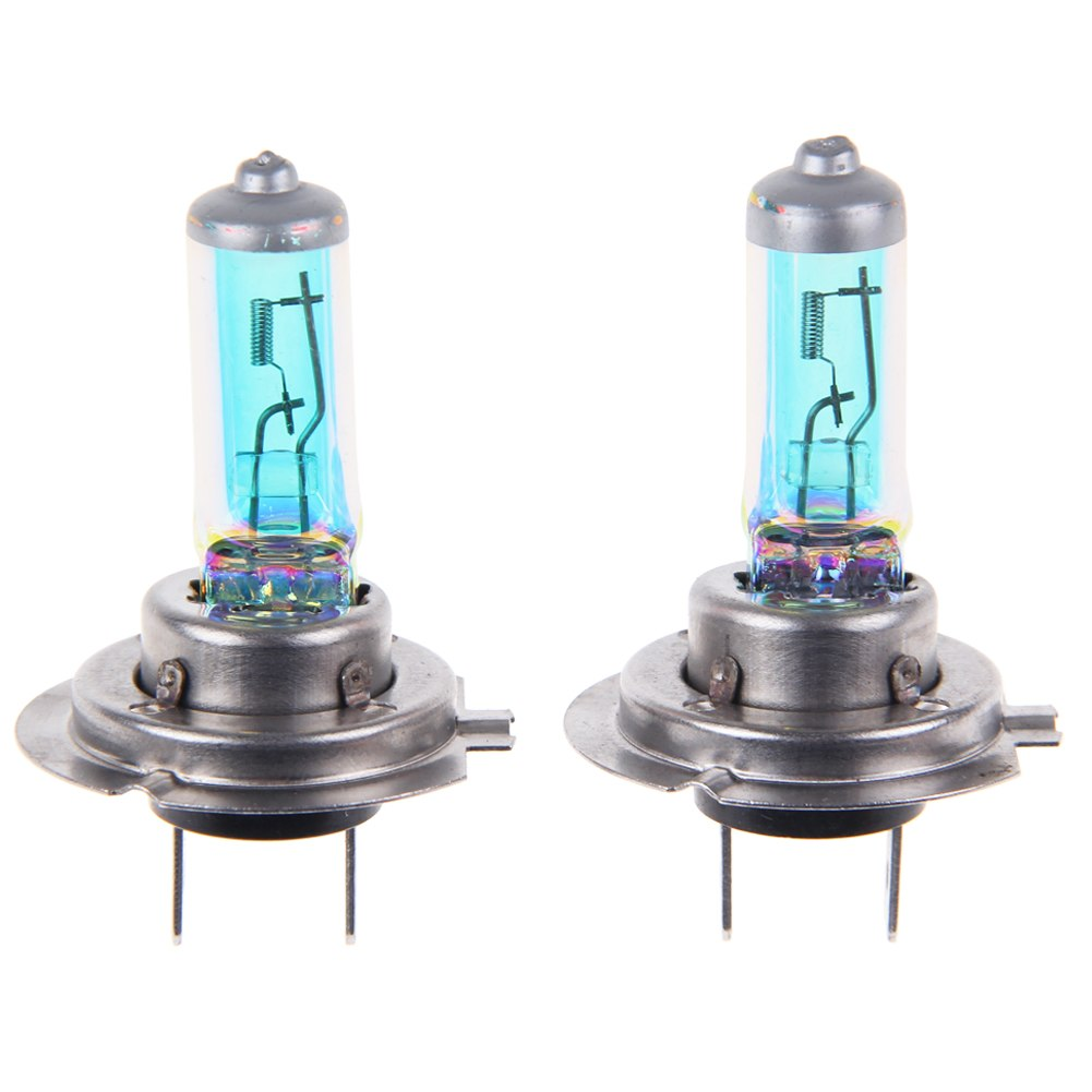 car auto h7 2 x headlight light bulb volt dc 100w mixed. Black Bedroom Furniture Sets. Home Design Ideas