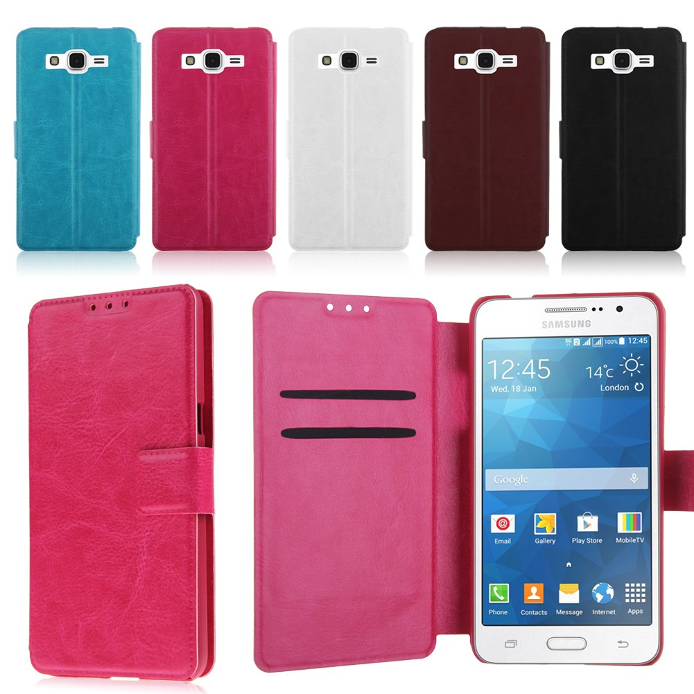 Tui folio housse coques en cuir pr samsung galaxy grand for Housse samsung galaxy grand prime