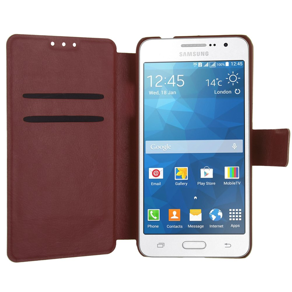 Flip Fashion Leather Cover Case Skin For Samsung Galaxy Grand Prime G530H G5308