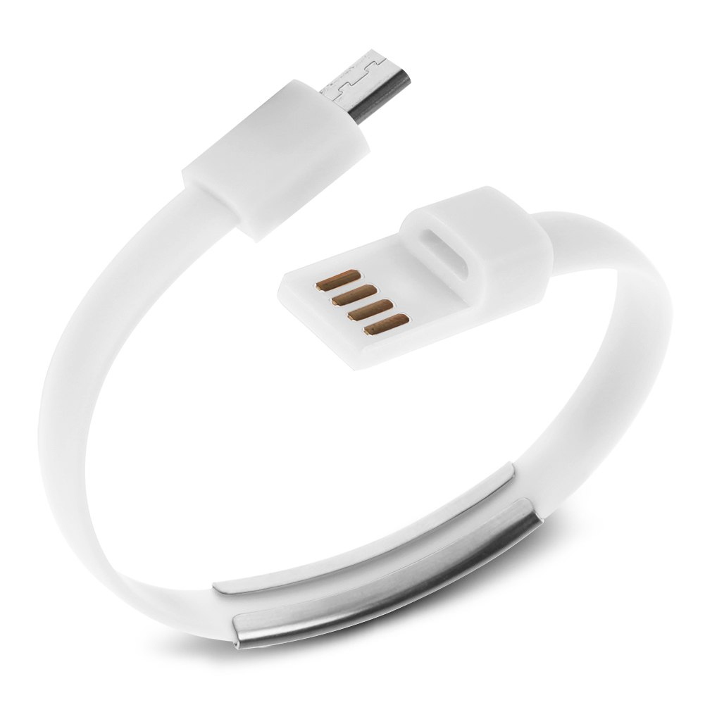 Micro USB to USB Cable Bracelet Charger Data Sync Cord for Samsung S4 S3 HTC LG