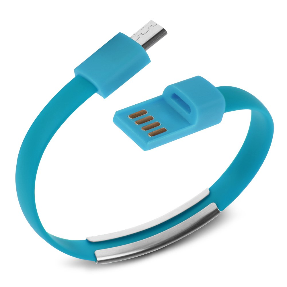 Micro,USB,to,USB,Cable,Bracelet,Charger,Data,