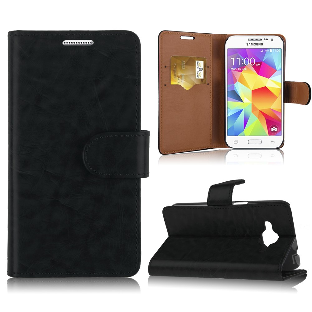 Populaire Flip Leather Stand Case Cover For Samsung Galaxy Core Prime SM  RD47