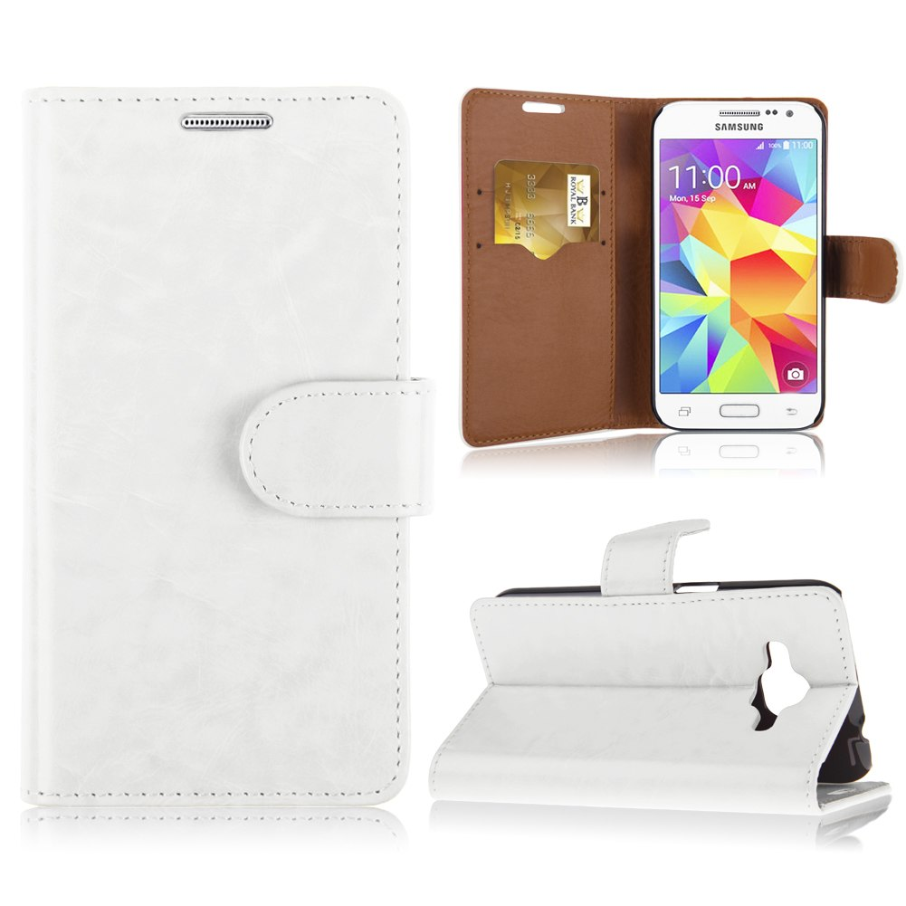 Populaire For Samsung Galaxy Core Prime SM-G360 G3606 G3608 Flip Leather  RD47