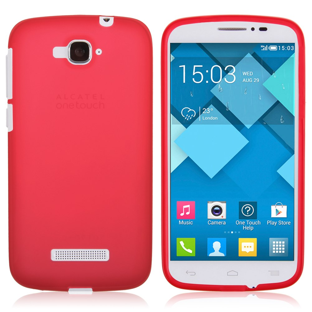 Fanda Carcasa Silicona Case para Alcatel One Touch Pop C7 OT 7040 7041 7041D