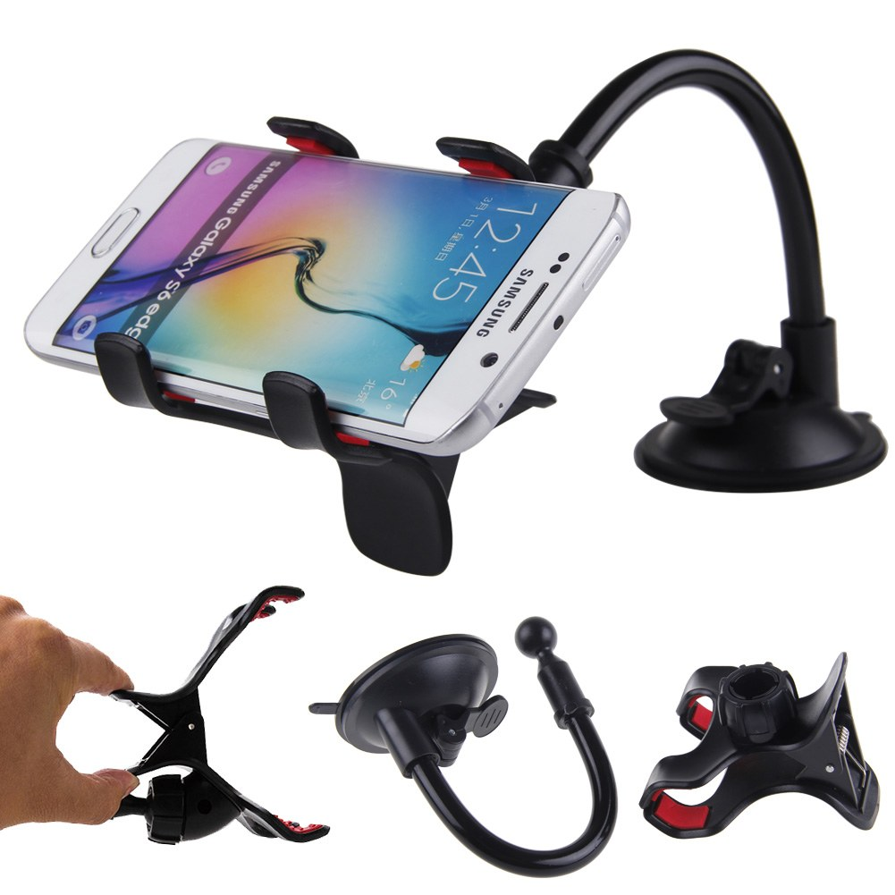 for iphone gps car windshield suction cup stand mount