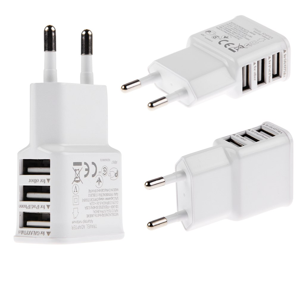 1a 2a ac usb power wall charger adapter travel eu us plug for samsung iphone htc ebay. Black Bedroom Furniture Sets. Home Design Ideas