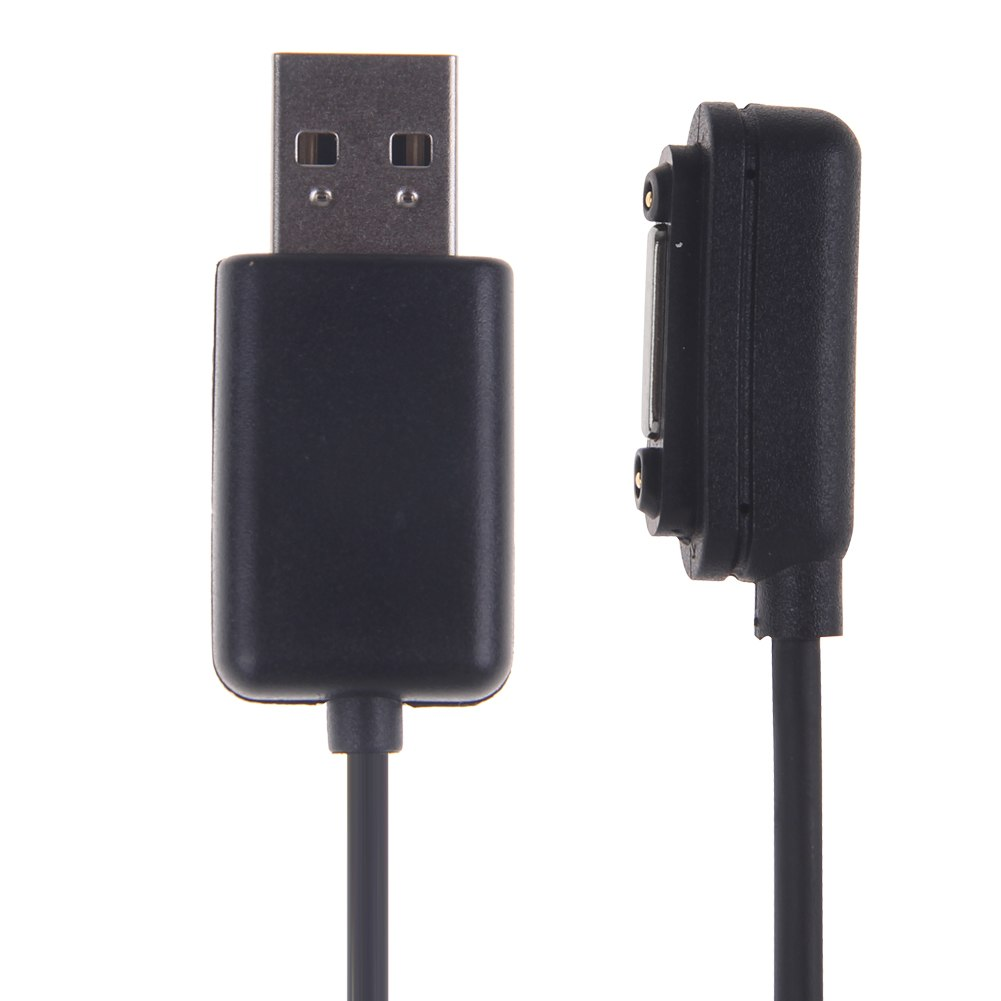 magnetic usb charging cable cord charger adapter for sony. Black Bedroom Furniture Sets. Home Design Ideas