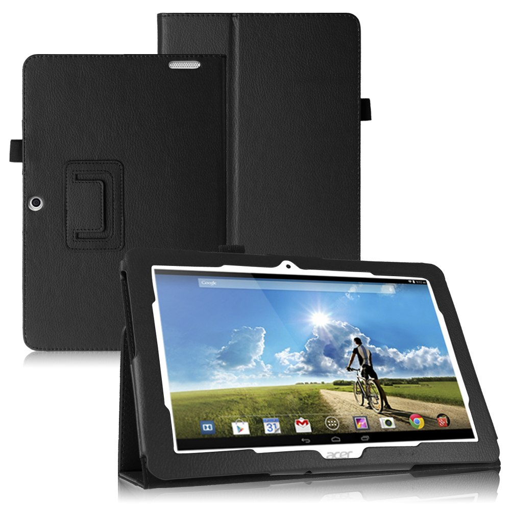 Smart Leather Flip Flio Stand Case Bumper Cover For Acer Iconia Tab A3-A20 10.1