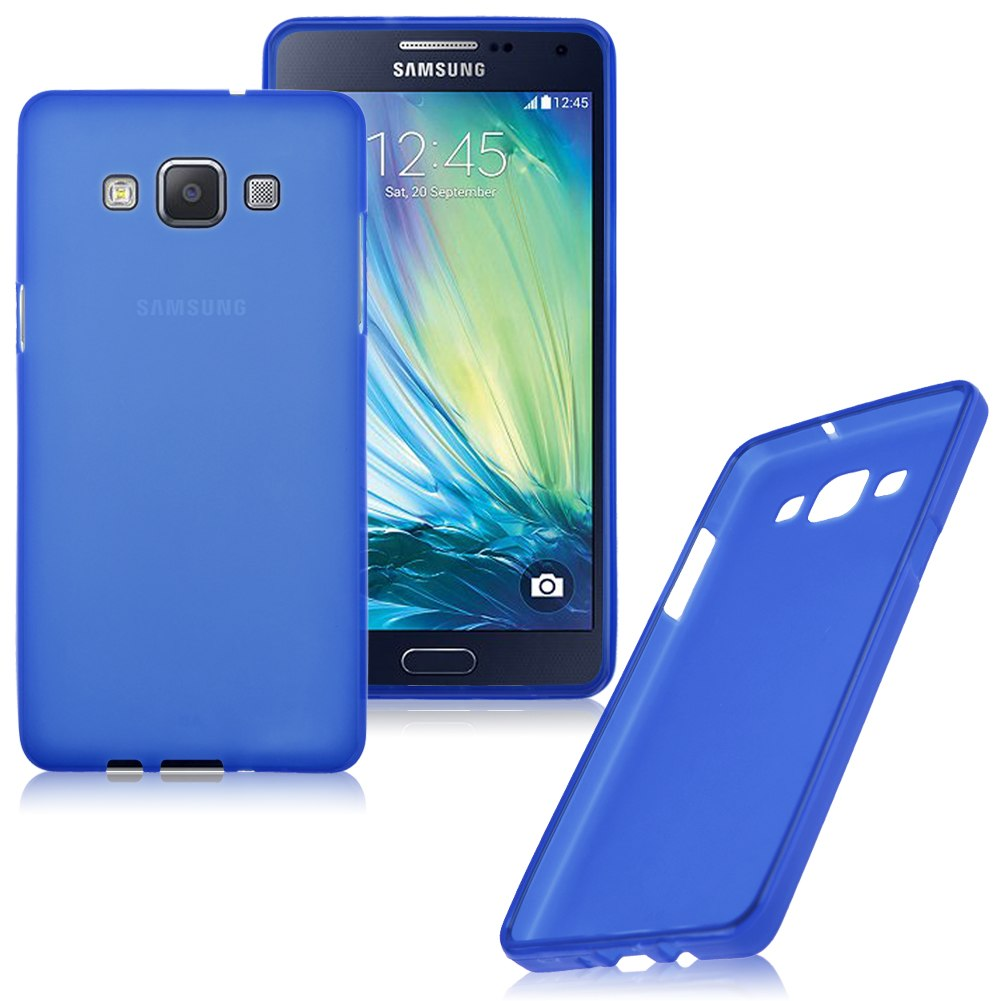 for samsung galaxy a5 a500 a5000 soft tpu silicone frosted back case cover skin ebay. Black Bedroom Furniture Sets. Home Design Ideas