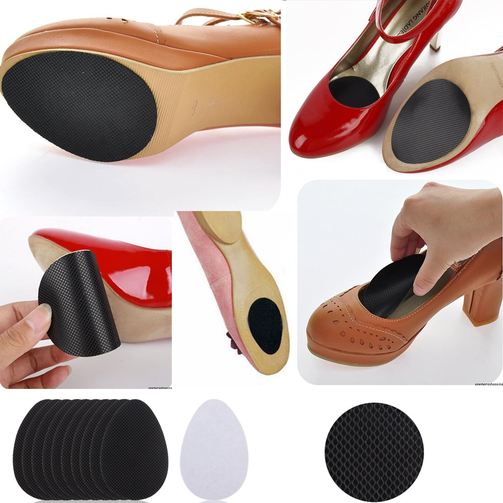 10pc self adhesive anti slip stick shoe grip pads non slip