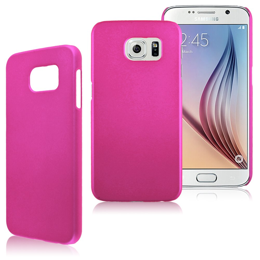 Hard Plastic Snap On Case Cover Shell For Samsung Galaxy S6 SM-G920 10 Colors