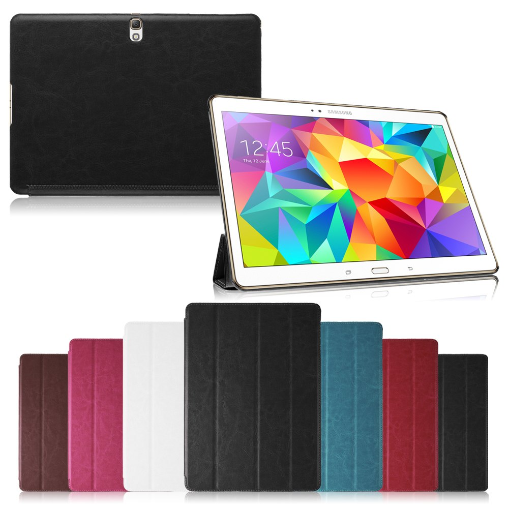Magnetic Book Leather Cover Case For Samsung Galaxy Tab S 10.5 T800 / 8.4 T700