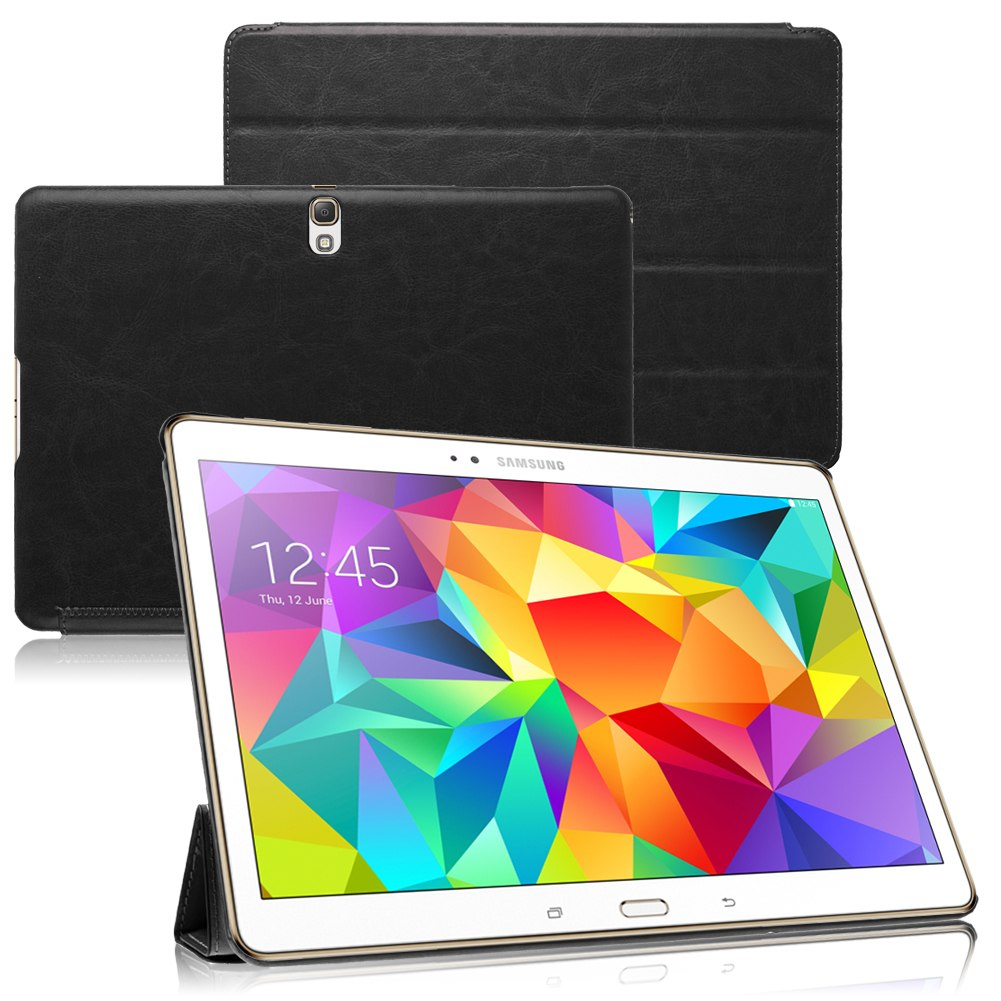 Magnetic Leather Case Cover Stand for Samsung Galaxy Tab S 10.5 T800 / 8.4 T700