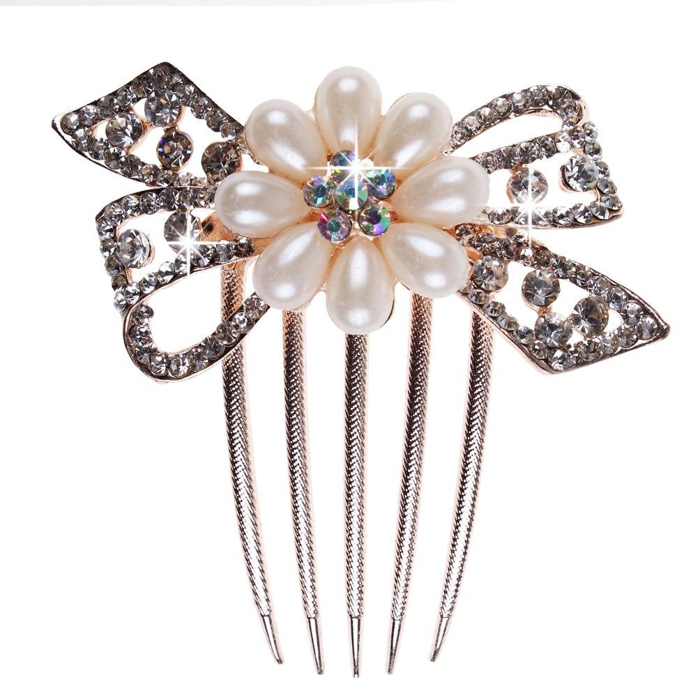 hair comb peigne cheveux bijoux perles strass coiffure. Black Bedroom Furniture Sets. Home Design Ideas
