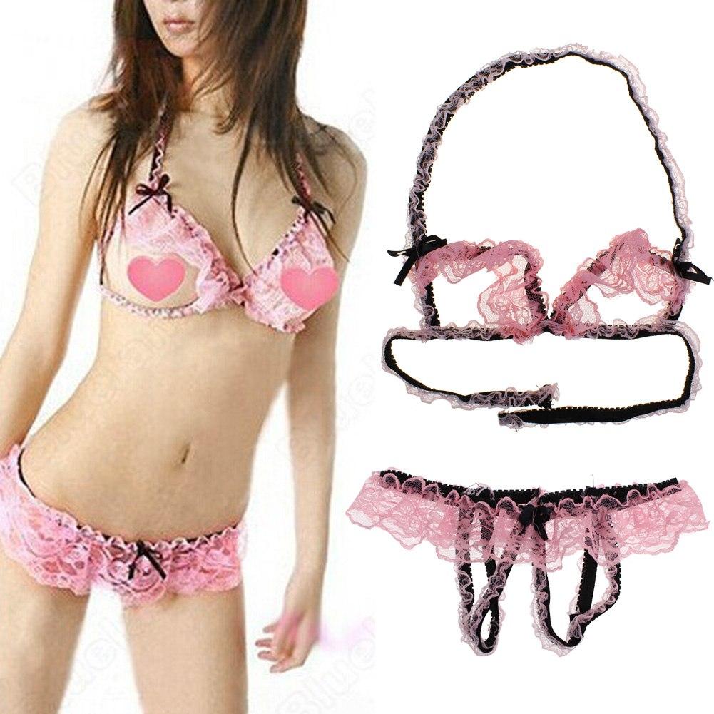 Open g string underwear for women