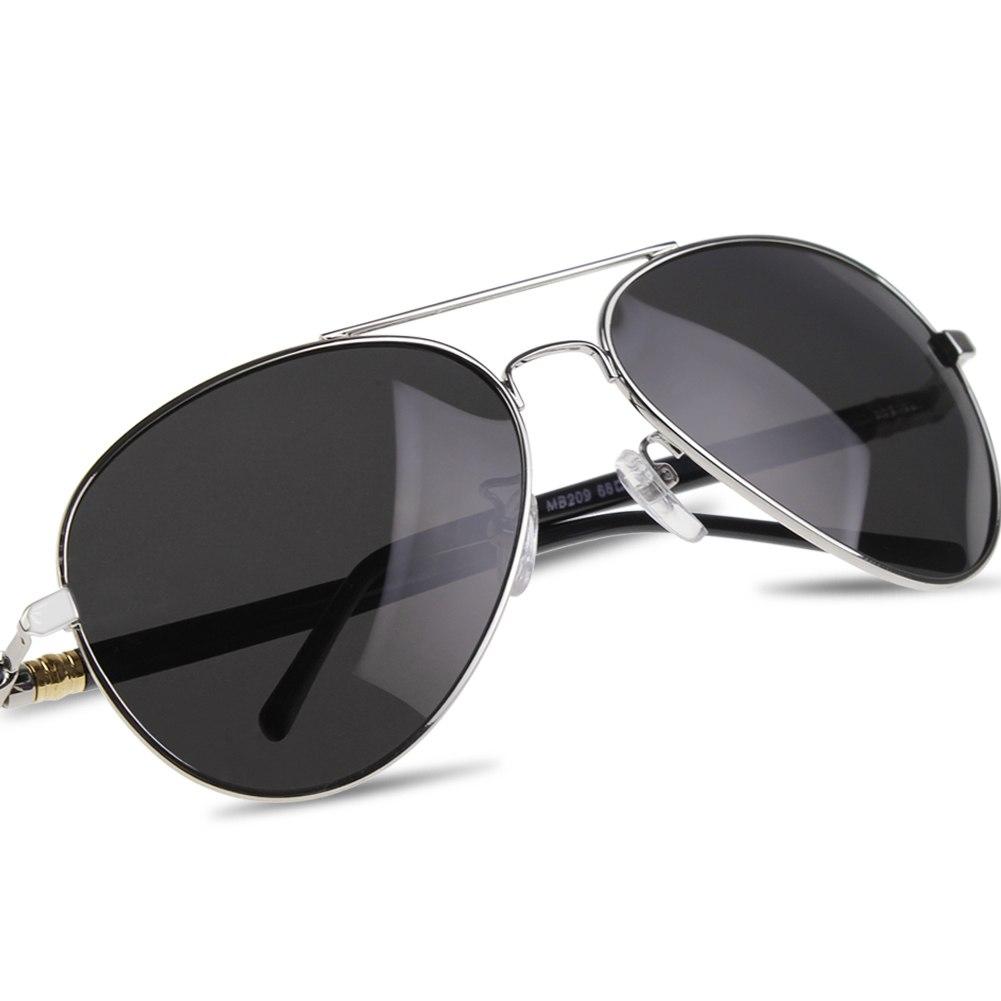 New Mens Retro Classic Polarized Lens Glasses Aviator Driving Sunglasses Eyewear
