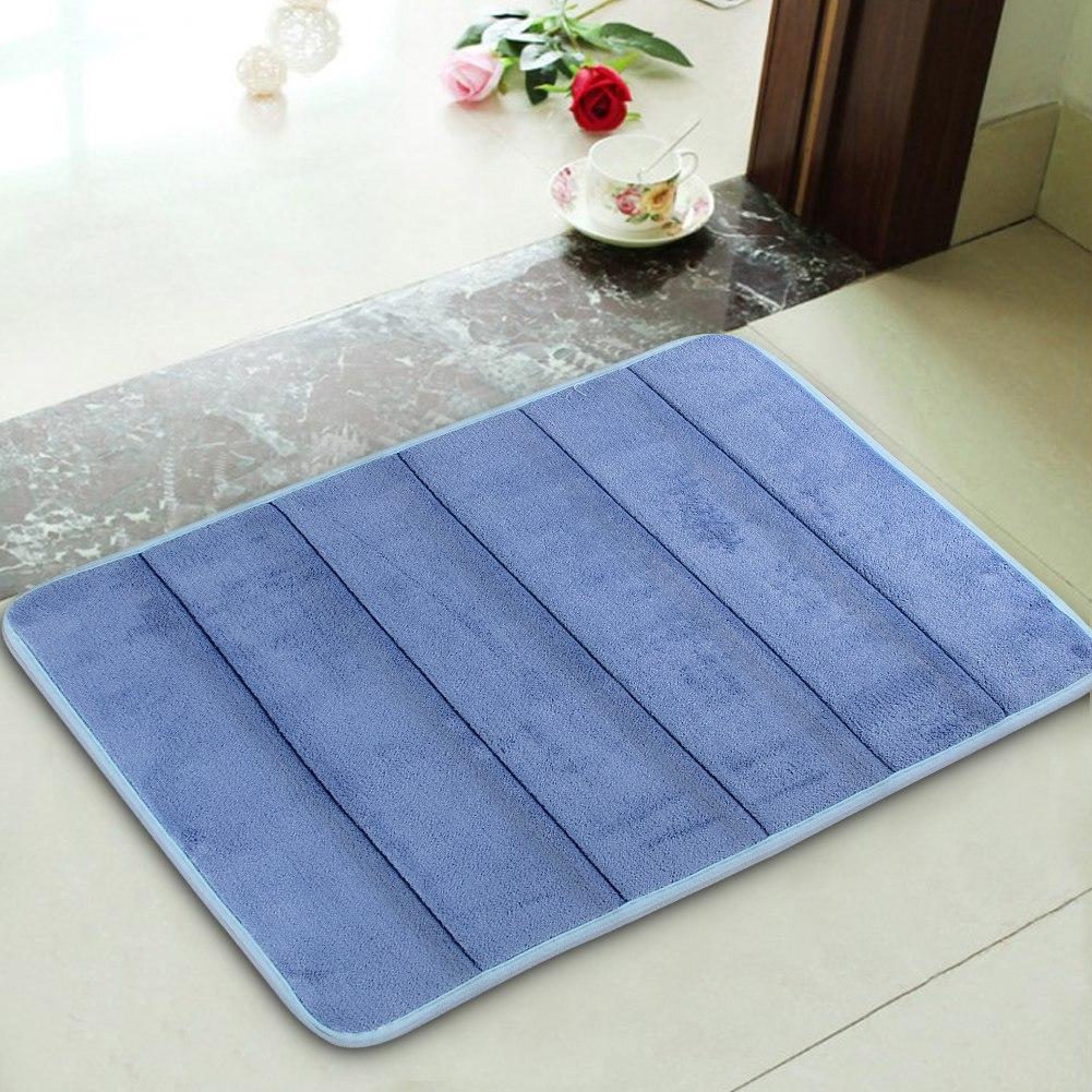17 X24 Non Slip Back Rug Soft Bathroom Carpet Memory Foam Bath Mat