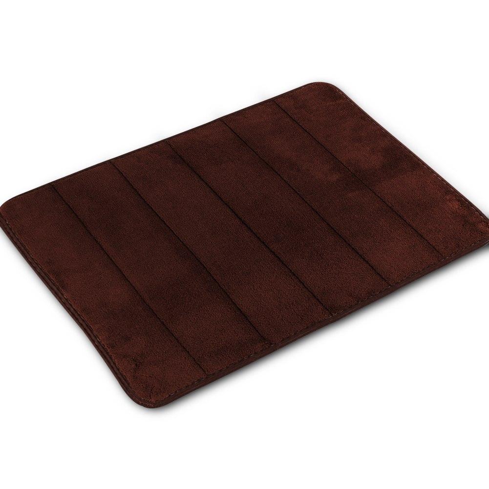 Memory Foam Bath Mat 40*60cm Absorbent Slip-resistant Pad