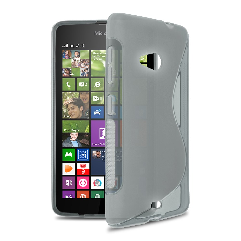 Soft TPU Case Back Cover Skin For Microsoft for Nokia ...