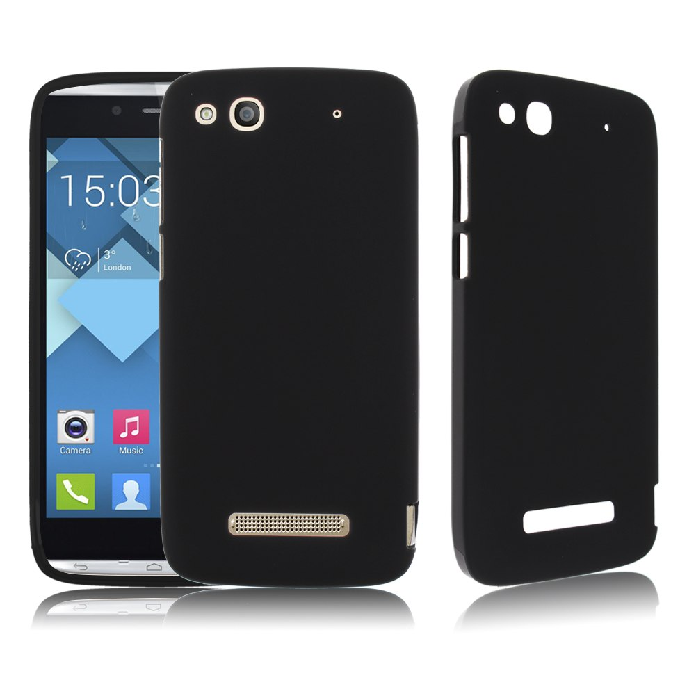 Soft tpu snap on case skin cover for alcatel one touch