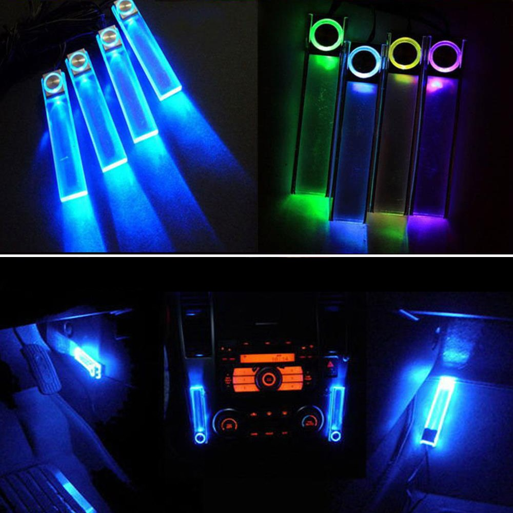 12v car charge led interior decoration floor decorative light lamp multi color ebay. Black Bedroom Furniture Sets. Home Design Ideas
