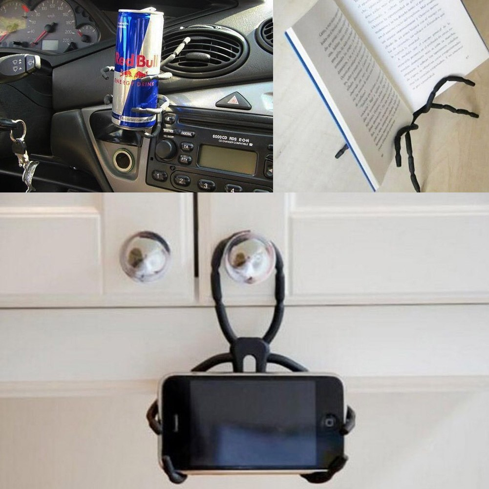 Spider Shape Universal Diy Car Mount Holder Stand For Cell