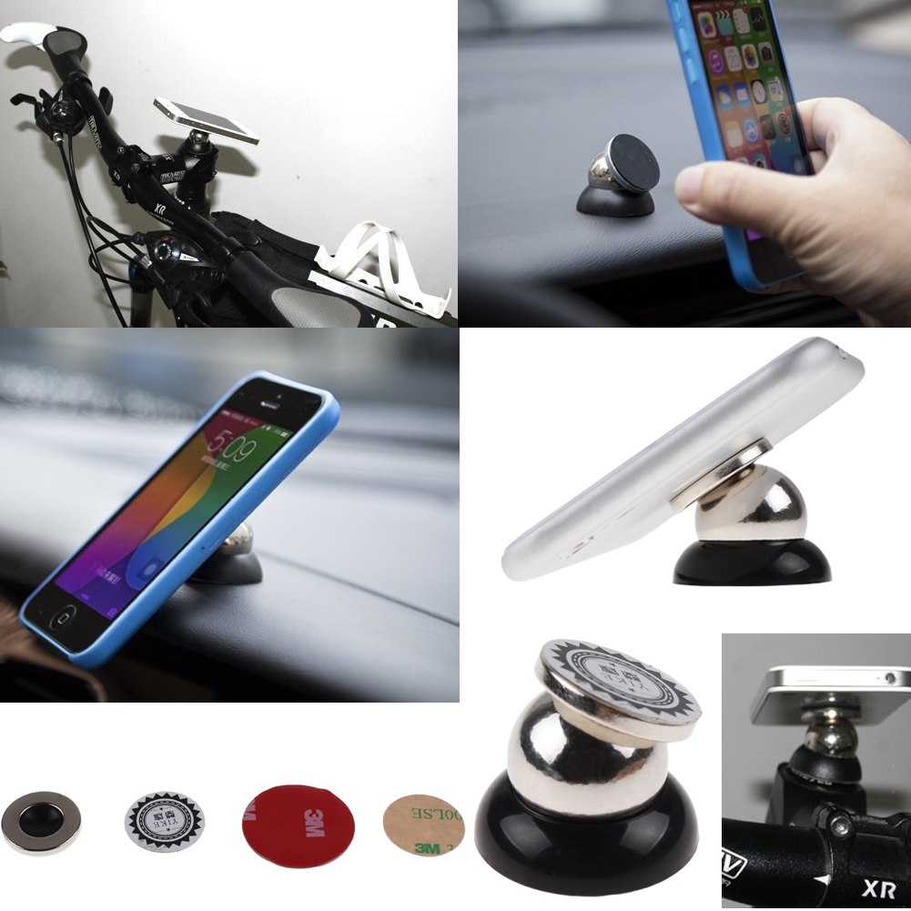 new magnetic magnet car mount holder for universal mobile phone gps accessories ebay. Black Bedroom Furniture Sets. Home Design Ideas