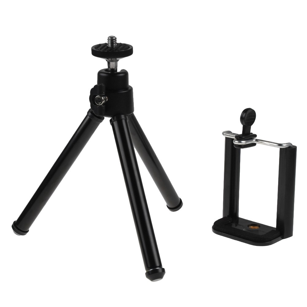 tr pied tripod support pince pour t l phone mobile iphone 6 6plus 5s 4 samsung ebay. Black Bedroom Furniture Sets. Home Design Ideas