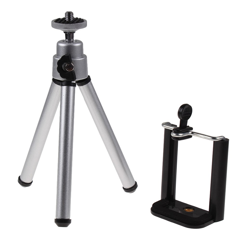 Tr pied tripod support pince pour t l phone mobile iphone 6 6plus 5s 4 samsung ebay - Support photo pince ...